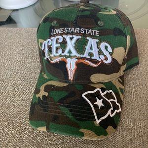 Texas Long Star State Cameo Ball Cap
